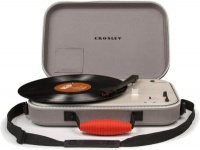 crosley messenger portable turntable media player accessory
