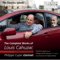 the complete works of louis cahuzac music cd