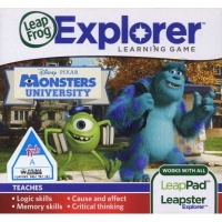 leapfrog explorer learning game disney pixars monsters other game