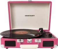 crosley cruiser briefcase styled record player media player accessory
