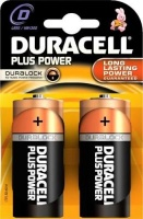 duracell plus power d alkaline with duralock 2 pack battery