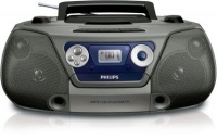 philips az1852 cd soundmachine and cassette player with media player accessory