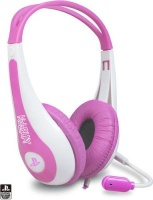 kidzplay stereo gaming headset for ps3 pink