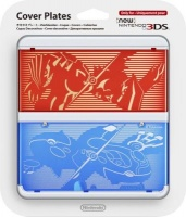 nintendo ds 3ds coverplate no 009 ruby vs saphire