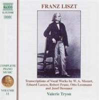 complete piano music vol 11 transcriptions of vocal works music cd