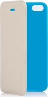 capdase sider baco folder case for iphone 5c white and blue