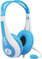 kidzplay stereo gaming headset for ps3 blue