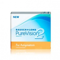 bausch lomb purevision 2 for astigmatism r785 contact lense