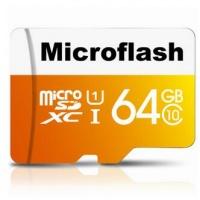 microflash micro sdxc card class10 tf memory 64gb