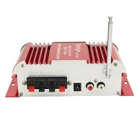 12v 30w universal car hifi with led 2 channel amplifier