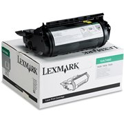 lexmark 12a7460 toner 5000 page yield black