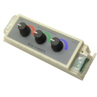rgb 3 channel manual dimmer 12v 3a