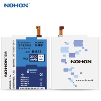 nohon 3000mah battery bm31 for xiaomi 3 mi3 with install