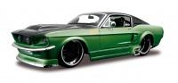 Maisto 124 Ford Mustang GT1967 All Stars Kit Green Black