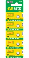 gp batteries 155v 392 silver oxide button cell