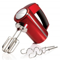 Morphy Richards 5 Speed Hand Mixer Turbo Accent Red