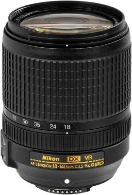 Nikon 18 140mm F35 56G AF S ED VR Lens