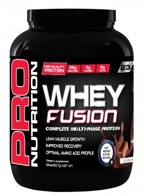 Pro Nutrition Whey Fusion 907g Chocolate
