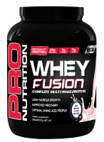 Pro Nutrition Whey Fusion 907g Strawberry