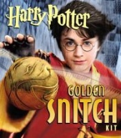 Harry Potter Golden Snitch Sticker Kit With Book and Stickers