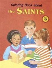 Coloring Book about the Saints