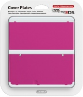 nintendo new 3ds coverplate pink