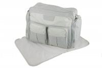 Eco Nappy Duffel Bag with Change Mat