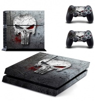 skin nit decal for ps4 the punisher