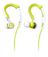 philips shq3400 actionfit headphone lime