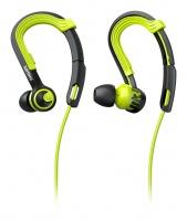 philips shq3400 actionfit headphone blackgreen