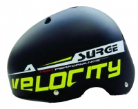 Surge Rival Helmet Black Yellow Large