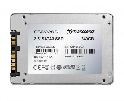Transcend 240GB 25 Sata3 SSD220 SSD Drive