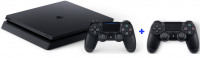 playstation 4 slim console extra controller ps4 1tb