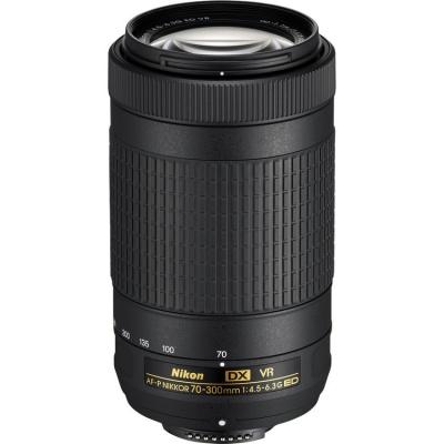 Nikon 70 300mm f45 63G AF P DX ED VR Lens