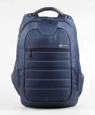 PowerUp Barcode Premium Laptop Backpack Grey