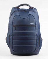 PowerUp Barcode Premium Laptop Backpack Grey