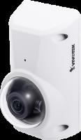Vivotek CC8370 HV 3MP 180 Panoramic Fisheye Camera Fixed Focal WDR Pro IK10 IP66