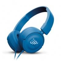 jbl t450blu on ear headphone blue