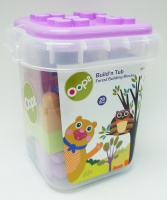 Oops 28 Piece Forest Build A Tub Multi Colour