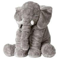 Cute Jumbo Elephant Plush Toy 60cm Grey