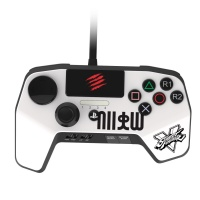 sparkfox madcatz controller for ps3 and ps4 white
