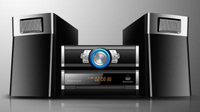Photo of JVC Micro DVD HiFi System