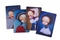 languo fabletown faces a5 notebook set