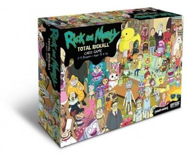 Rick Morty Total Rickall Cooperative Card Game