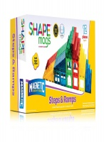 Shape Mags Magnetic Stick N Stack Steps Ramps Set