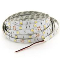 led strip light 3528 non waterproof 12 volts pure white