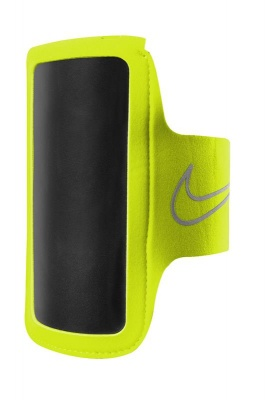 Nike Lean Arm Band Volt Black Silver