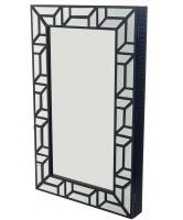 George Mason George Mason Spiro Wall Mount Jewelry Mirror Cabinet