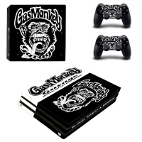 skin nit decal for ps4 pro gas monkey