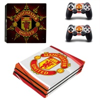 skin nit decal for ps4 pro manchester united red and